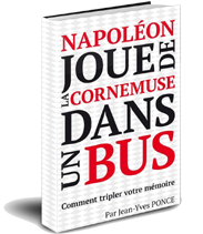 Napolon joue de la cornemuse dans un bus