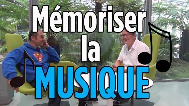 mémoriser la musique