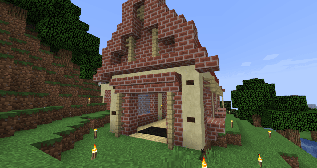 facade avant minecraft